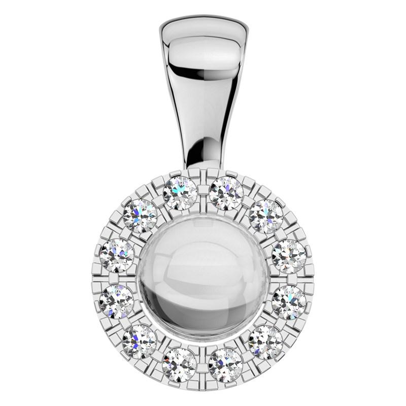 7764781f7 Nora W Briliant - půvabný přívěsek s perlou a brilianty | Brilaska